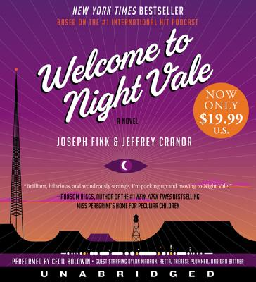 Welcome to Night Vale Low Price CD: A Novel Cover Image