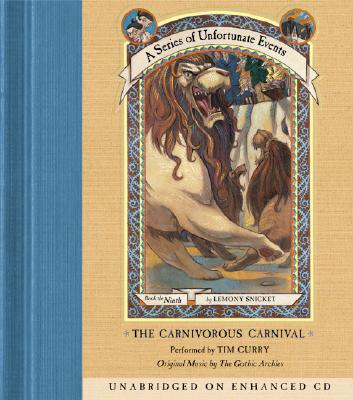 Series of Unfortunate Events #9: The Carnivorous Carnival CD Cover Image