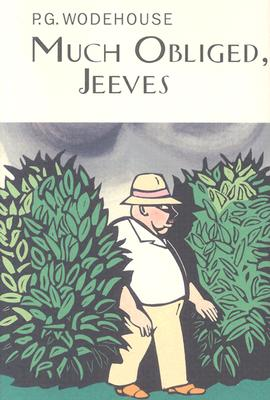 Much Obliged, Jeeves Cover