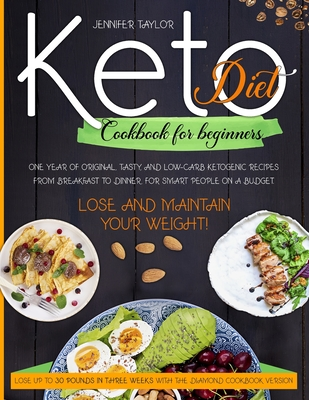 Keto Diet Cookbook for Beginners Cover Image