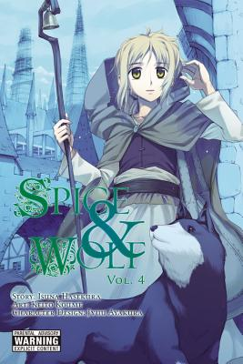 Spice & Wolf, Volume 4 Cover