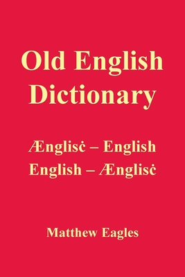 Old English Dictionary Cover Image