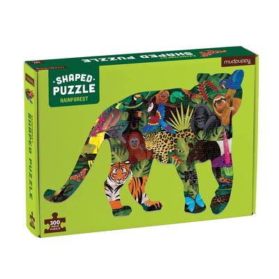 Rainforest 300 Piece Shaped Scene Puzzle Cover Image