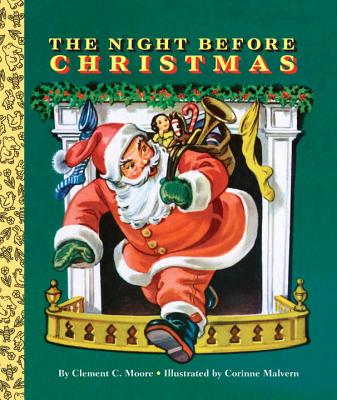 The Night Before Christmas (Big Golden Board Book) Cover Image