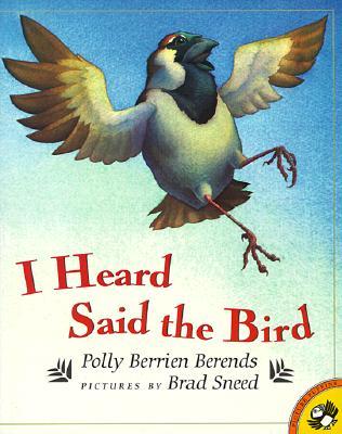 I Heard Said the Bird Cover Image