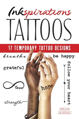 Inkspirations Tattoos: 17 Temporary Tattoo Designs (Dover Tattoos) Cover Image