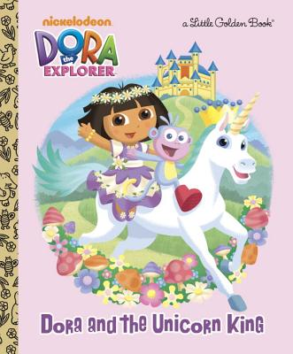 Dora and the Unicorn King Cover