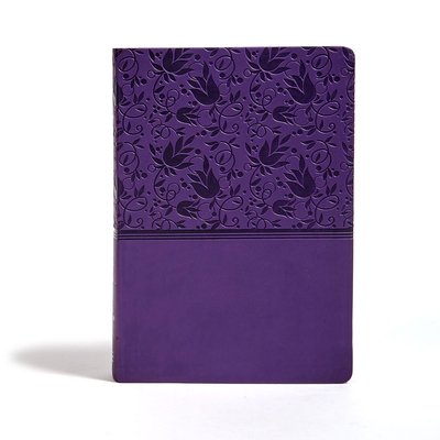 Cover for KJV Super Giant Print Reference Bible, Purple LeatherTouch