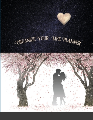 Organize Your Life Planner: 12 Month Planner Cover Image