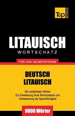 Litauischer Wortschatz für das Selbststudium - 9000 Wörter Cover Image