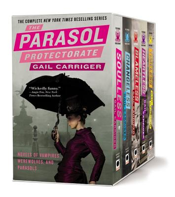 The Parasol Protectorate Boxed Set Cover