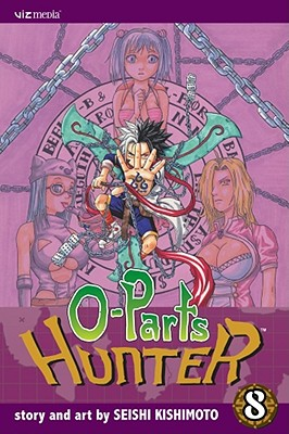Cover for O-Parts Hunter, Volume 8