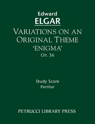 Variations on an Original Theme 'Enigma', Op.36: Study score Cover Image