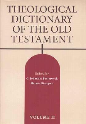Theological Dictionary of the Old Testament Volume II, 2 Cover Image