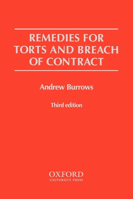 Remedies for Torts and Breach of Contract Cover Image