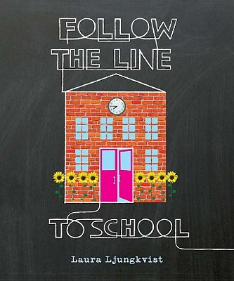 Follow the Line to School Cover
