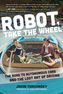 Cover for Robot, Take the Wheel