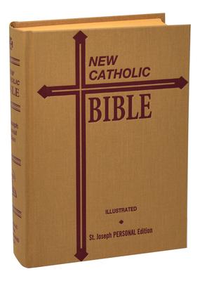 St. Joseph New Catholic Bible--Med. Print Cover Image