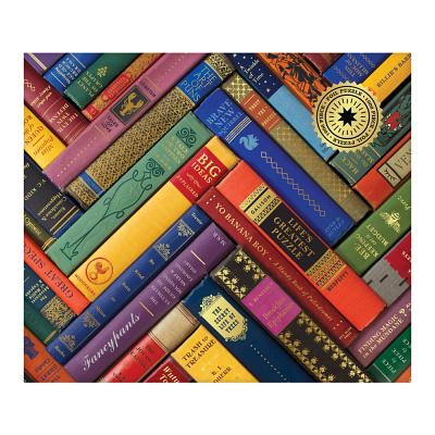 Phat Dog Vintage Library 1000 Piece Foil Stamped Puzzle Cover Image