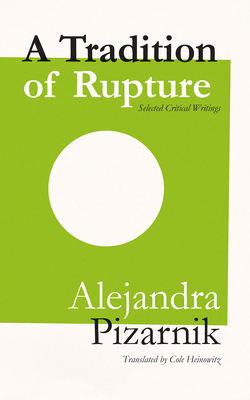 A Tradition of Rupture Cover Image