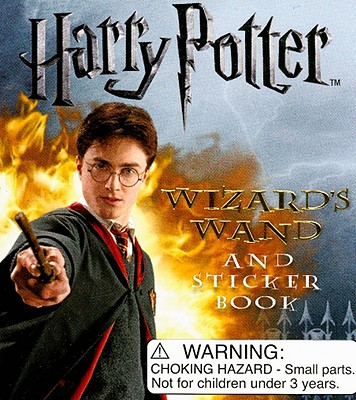 Harry Potter Wizard's Wand Kit and Sticker Book [With Wizards Wand] Cover