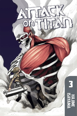 Attack on Titan, Volume 3 Cover