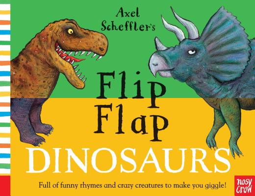 Flip Flap Dinosaurs (Flip Flap Books) Cover Image