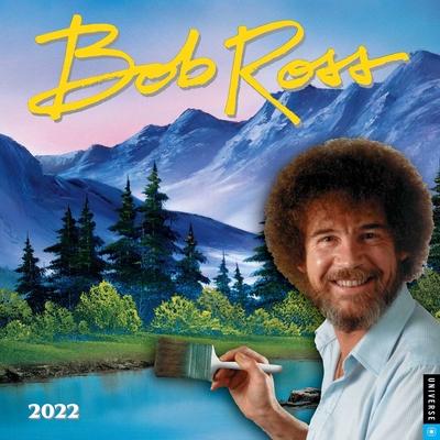 Bob Ross 2022 Wall Calendar Cover Image