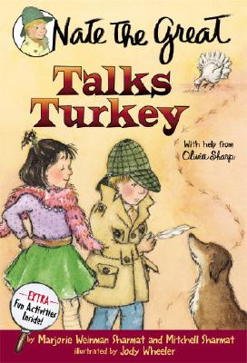 Nate the Great Talks Turkey Cover Image