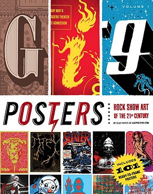 Gig Posters, Volume 1 Cover
