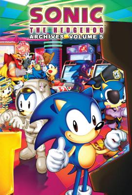 Sonic the Hedgehog Archives 5 Cover