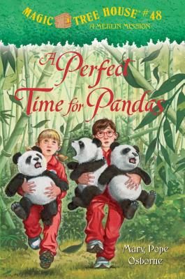 A Perfect Time for Pandas (Magic Tree House (R) Merlin Mission #48) Cover Image