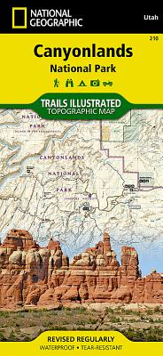 Canyonlands National Park (National Geographic Maps: Trails Illustrated #210) Cover Image