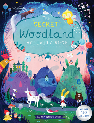 The Secret Woodland Activity Book Cover Image