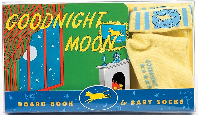 Goodnight Moon Board Book & Baby Socks Cover Image