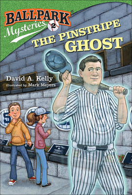 Pinstripe Ghost (Ballpark Mysteries #2) Cover Image