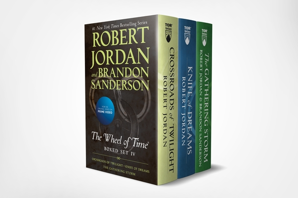 Wheel of Time Premium Boxed Set IV: Books 10-12 (Crossroads of Twilight, Knife of Dreams, The Gathering Storm) Cover Image