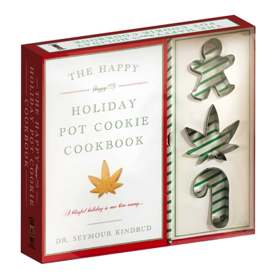 The Happy (Happy!!!) Holiday Pot Cookie Cookbook Cover Image
