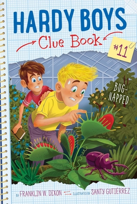 Bug-Napped (Hardy Boys Clue Book #11) Cover Image