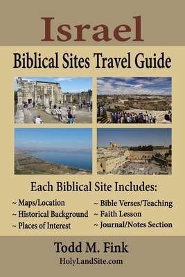 Israel Biblical Sites Travel Guide cover