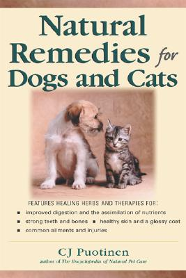 Cover for Natural Remedies for Dogs and Cats (Keats Good Herb Guide)