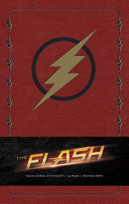 The Flash Hardcover Ruled Journal (Comics) Cover Image