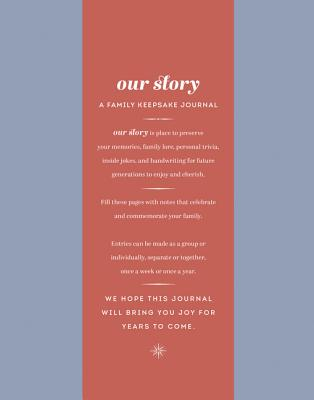 Our Story: A Family Keepsake Journal Cover Image