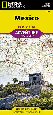 Mexico (National Geographic Adventure Map #3108) Cover Image