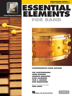 Essential Elements for Band - Book 1 with Eei: Percussion/Keyboard Percussion [With CDROM] Cover Image