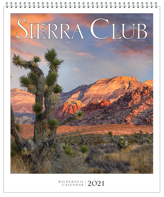 Sierra Club Wilderness Calendar 2021 Cover Image