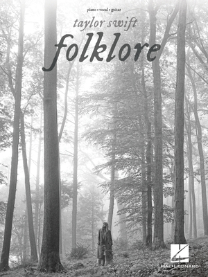Taylor Swift - Folklore: Piano/Vocal/Guitar Songbook Cover Image