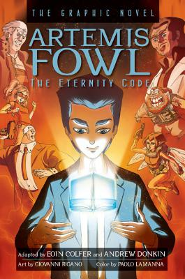 Artemis Fowl The Eternity Code Graphic Novel Cover Image