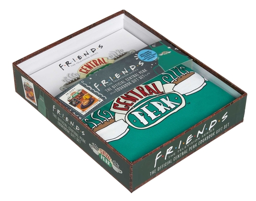 Friends: The Official Central Perk Cookbook Gift Set Cover Image