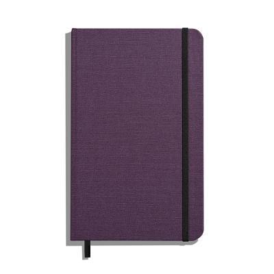 Shinola Journal, HardLinen, Ruled, Dark Purple (5.25x8.25) Cover Image